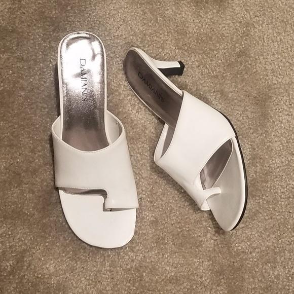 Damiani Shoes - NEW White Damiani's Sandals